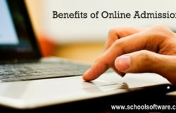 School admission management system or software