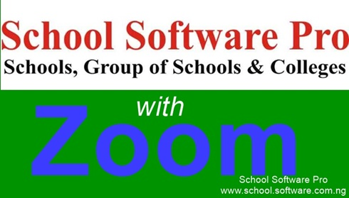 School Management Software with Zoom integration