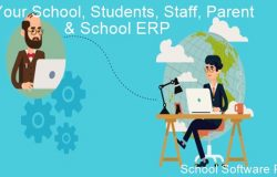 manage school with school management software (ERP) from remote area