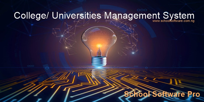 College/ Polytechnics / Universities Management System / Software