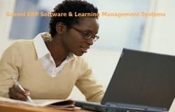 school ERP software and learning management systems