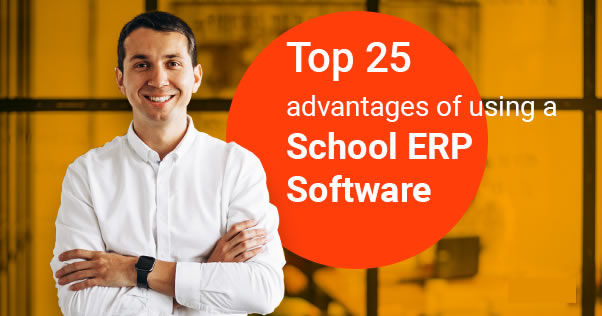 advantages of School (online) ERP Software